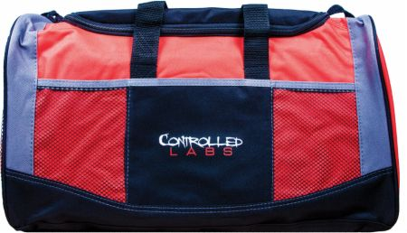 Image of Controlled Labs Gym Bag Red/Black/Grey