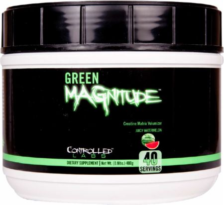 Controlled Labs Green MAGnitude Juicy Watermelon 40 Servings - Creatine