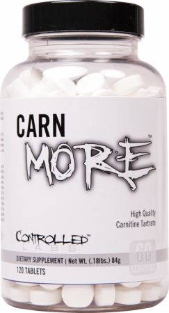 Image of Controlled Labs CARNmore 120 Tablets