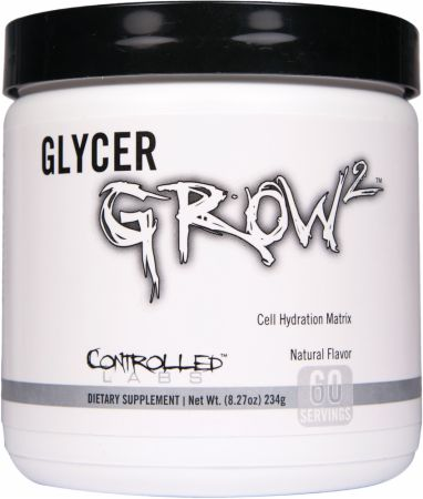 Controlled Labs GlycerGrow 2 60 Servings - Pre-Workout Supplements
