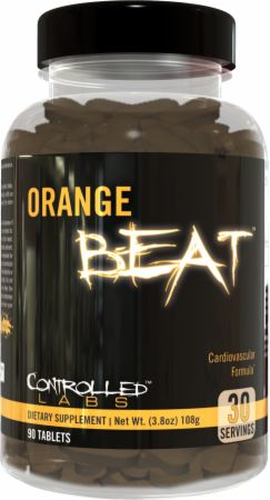 Image of Orange Beat 90 Tablets - Cardiovascular Health Controlled Labs