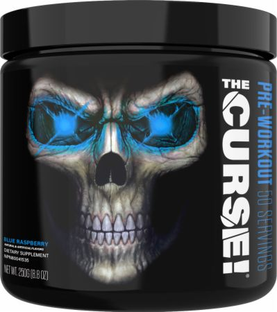 The Curse! Blue Raspberry Ice 50 Servings - Pre-Workout Supplements COBRA LABS