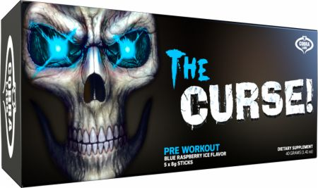 COBRA LABS The Curse Blue Raspberry Ice 5 Servings - Pre-Workout Supplements