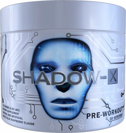 Shadow-X Arctic Blue Raspberry 30 Servings - Pre-Workout Supplements COBRA LABS