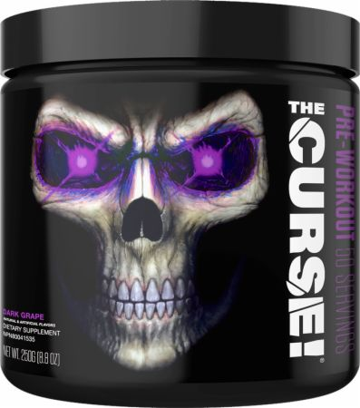 Image of The Curse! Pre-Workout Dark Grape 50 Servings - Pre-Workout JNX Sports