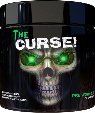 Image of The Curse! Pre-Workout Green Apple Envy 250 Grams - Pre-Workout Supplements JNX Sports