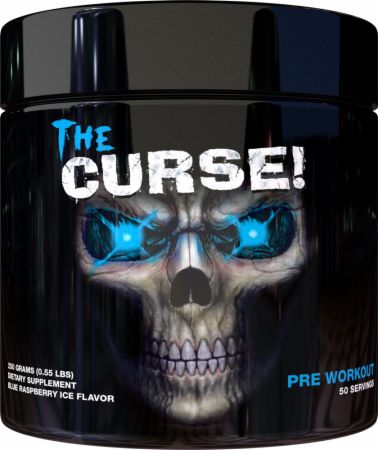 Image of The Curse! Pre-Workout Blue Raspberry Ice 250 Grams - Pre-Workout Supplements JNX Sports