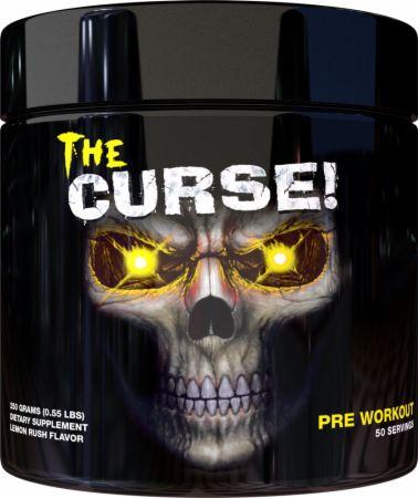 Image of The Curse! Pre-Workout Lemon Rush 250 Grams - Pre-Workout Supplements JNX Sports