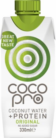 Image of CocoPro Coconut Water + Protein 1 - 330ml Carton Unflavoured