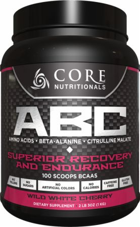 Image of Core Nutritionals Core ABC 50 Servings Wild White Cherry