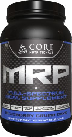 Image of Core MRP Blueberry Crumb Cake 3 Lbs. - Meal Replacement Core Nutritionals