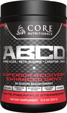 Core Nutritionals Core ABCD White Pineapple Strawberry 30 Servings - Pre-Workout Supplements