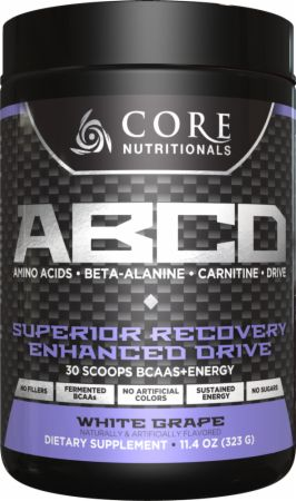 Core Nutritionals Core ABCD White Grape 30 Servings - Pre-Workout Supplements
