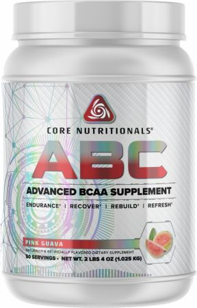 Image of Core ABC Pink Guava 50 Servings - Amino Acids & BCAAs Core Nutritionals
