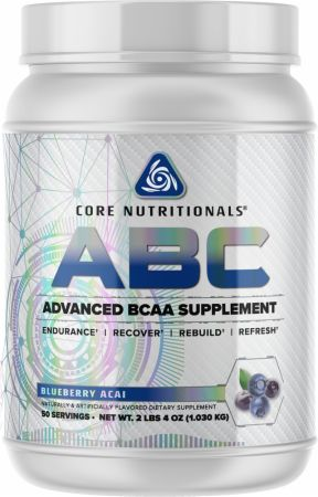 Image of Core ABC Blueberry Acai 50 Servings - Amino Acids & BCAAs Core Nutritionals