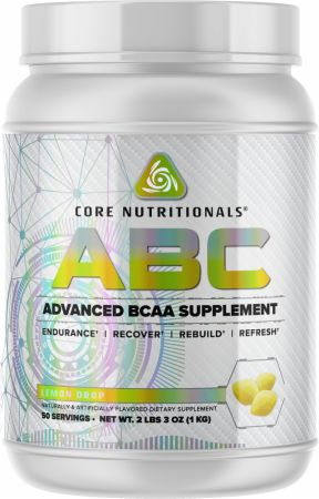 Image of Core ABC Lemon Drop 50 Servings - Amino Acids & BCAAs Core Nutritionals