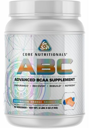 Image of Core ABC Australian Orange Sherbert 50 Servings - Amino Acids & BCAAs Core Nutritionals