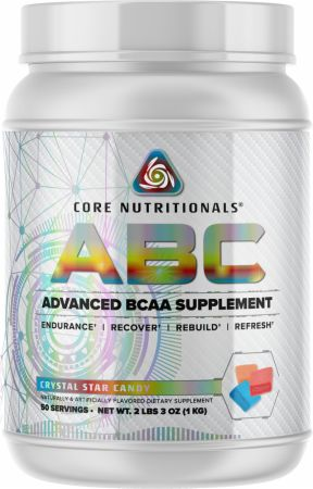Image of Core ABC Crystal Star Candy 50 Servings - Amino Acids & BCAAs Core Nutritionals
