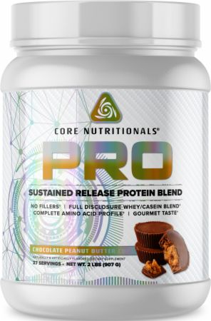 Image of PRO Sustained Release Protein Blend Chocolate Peanut Butter Cup 2 Lbs. - Protein Powder Core Nutritionals