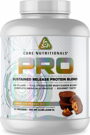 Image of PRO Sustained Release Protein Blend Chocolate Peanut Butter Cup 5 Lbs. - Protein Powder Core Nutritionals