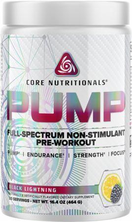 PUMP Stimulant-Free Pre Workout
