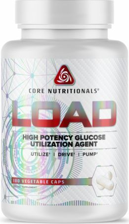 Image of LOAD Carb Control 180 Vegetable Caps - Carbohydrate Management Core Nutritionals