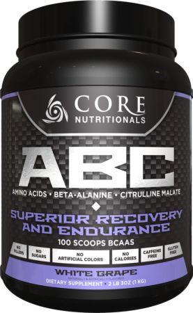 Image of Core Nutritionals Core ABC 50 Servings White Grape