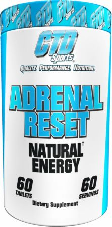 Image of Adrenal Reset 60 Tablets - Stress Reduction CTD Sports