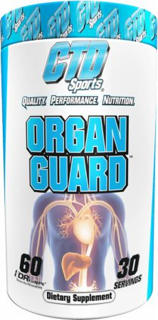 Image of Organ Guard 60 Capsules - Cardiovascular Health CTD Sports