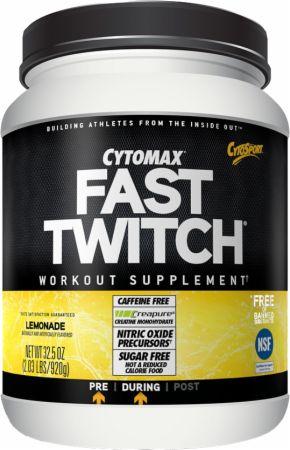 CytoSport Fast Twitch - Caffeine Free