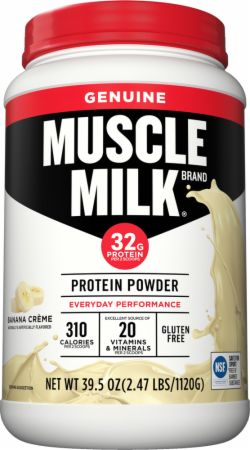 Does muscle milk powder work