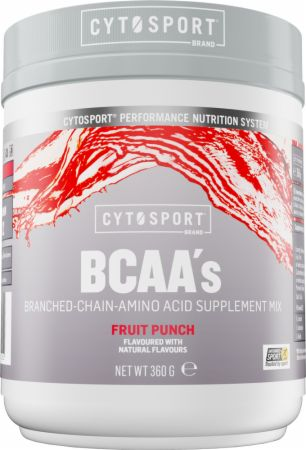 Image of CytoSport BCAA 30 Servings Fruit Punch