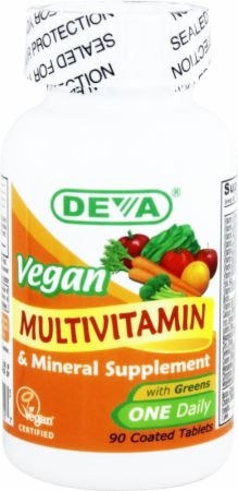 Deva Nutrition Vegan Multivitamin & Mineral - Iron Free