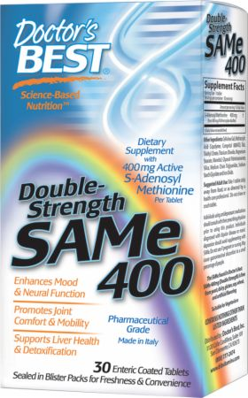 Double Strength SAMe 400