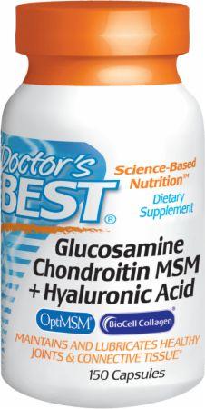 Glucosamine Chondroitin MSM + Hyaluronic Acid
