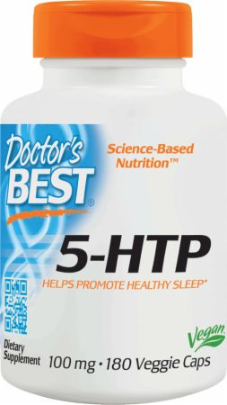 Image of 5-HTP 180 Veggie Caps - Stress Reduction Doctor's Best