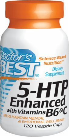 5-HTP Enhanced with B6 and C