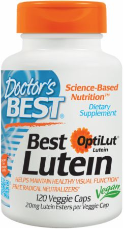 Image of Doctor's Best Best Lutein 120 Veggie Capsules