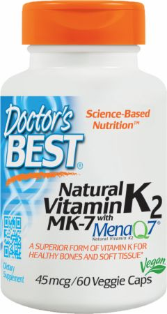 Natural Vitamin K2 with MenaQ7
