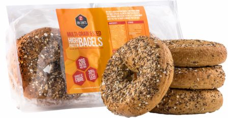 Image of Dr Zaks High Protein Bagels 4 Bagels