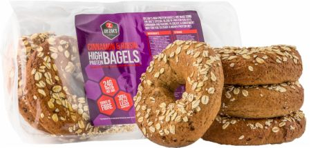 Image of Dr Zaks High Protein Bagels 4 x 100 g Bagels Cinnamon & Raisin