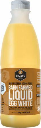 Image of Dr Zaks Barn Farmed 100% Liquid Egg Whites 1 Kilogram Unflavored