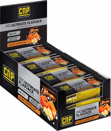 Image of CNP Professional Pro Ultimate Flapjack 12 - 85g Flapjacks Salted Caramel Nut