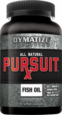 Dymatize Pursuit-Rx All Natural Fish Oil