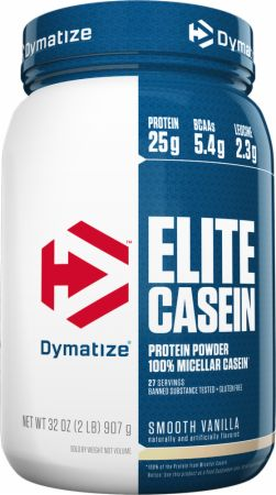 Image of Dymatize Elite Casein 2 Lbs. Smooth Vanilla