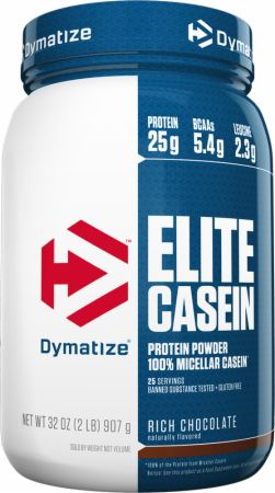 Image of Dymatize Elite Casein 2 Lbs. Rich Chocolate