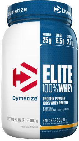 Dymatize Elite 100% Whey Protein Snickerdoodle 2 Lbs. - Protein Powder