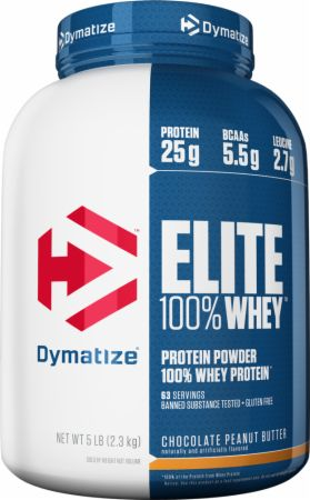 Image of Elite 100% Whey Protein Chocolate Peanut Butter 5 Lbs. - Protein Powder Dymatize