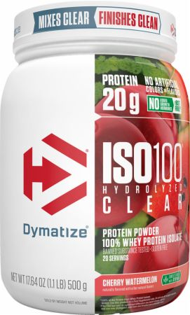 ISO100 Hydrolyzed Clear WPI Protein