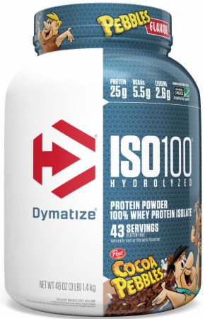 Image of ISO100® Hydrolyzed 100% Whey Protein Isolate Cocoa Pebbles 3 Lbs. - Protein Powder Dymatize